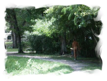 Camp david nudist
